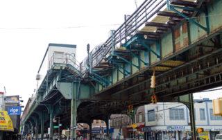 under bridge 7 line
