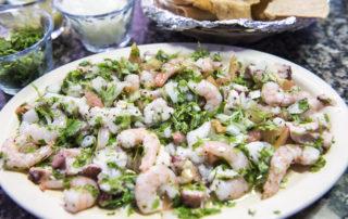 Shirmp salad