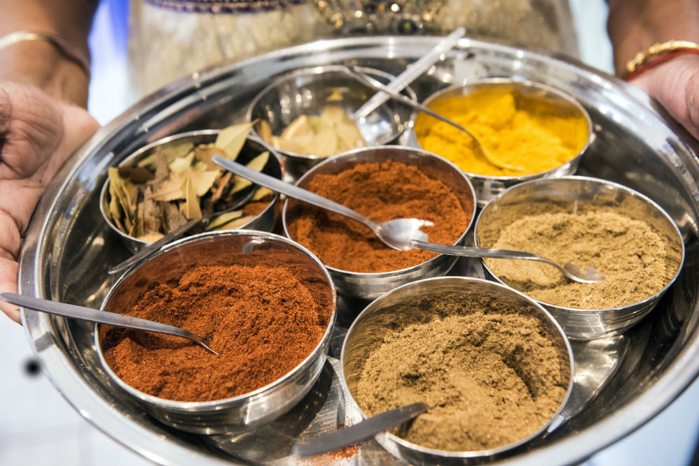Fresh spices are essential to a good Durban curry.